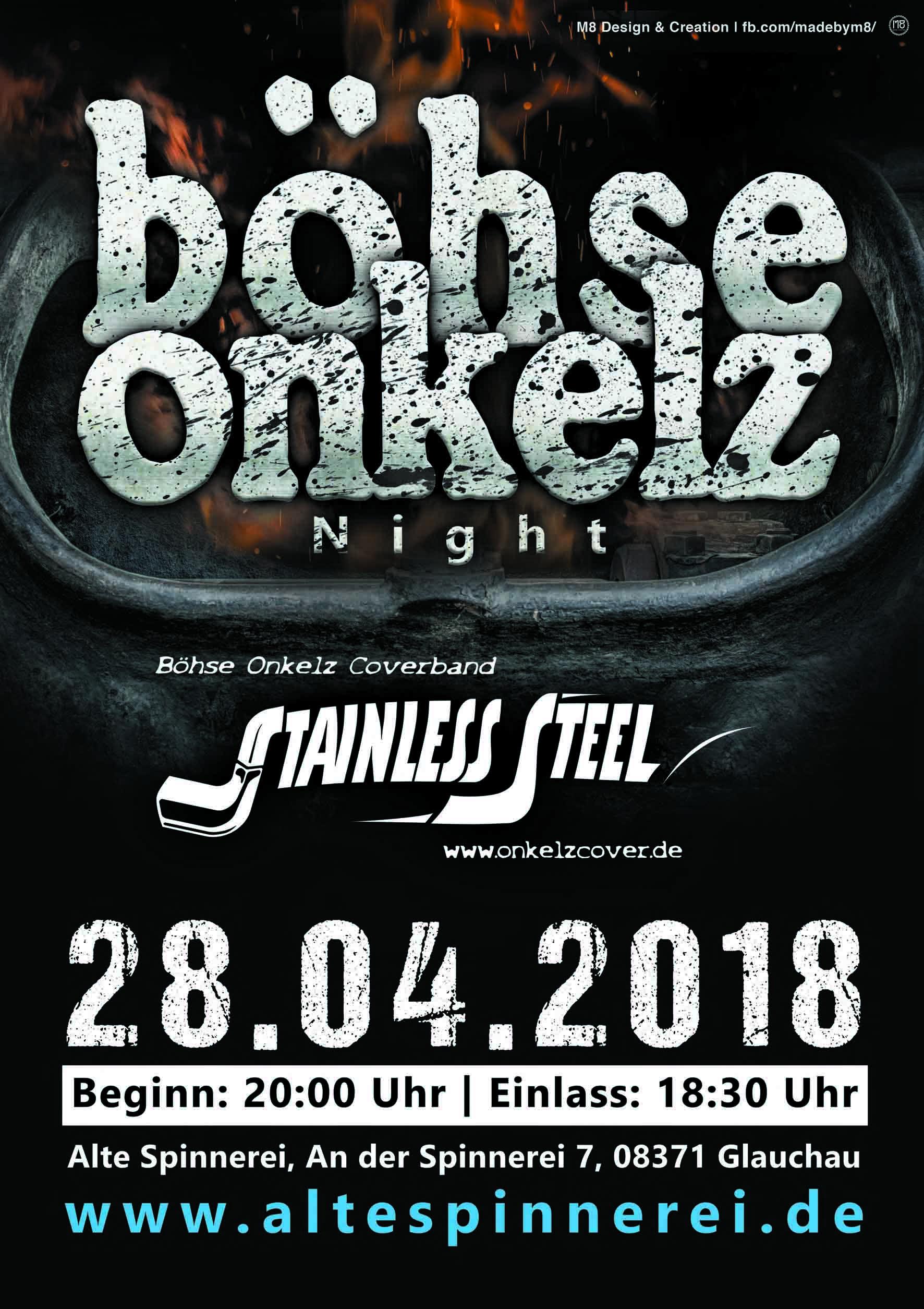 Kalender Abgesagt Böhse Onkelz Tribute Night Mit Stainless